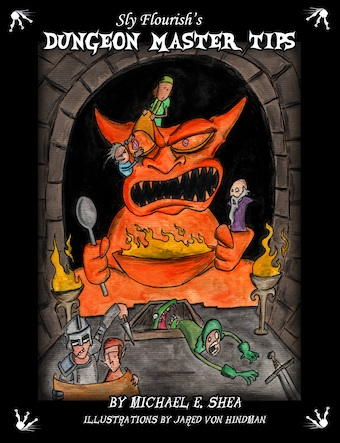 Sly flourishs dungeon master tips book fandeluxe Images