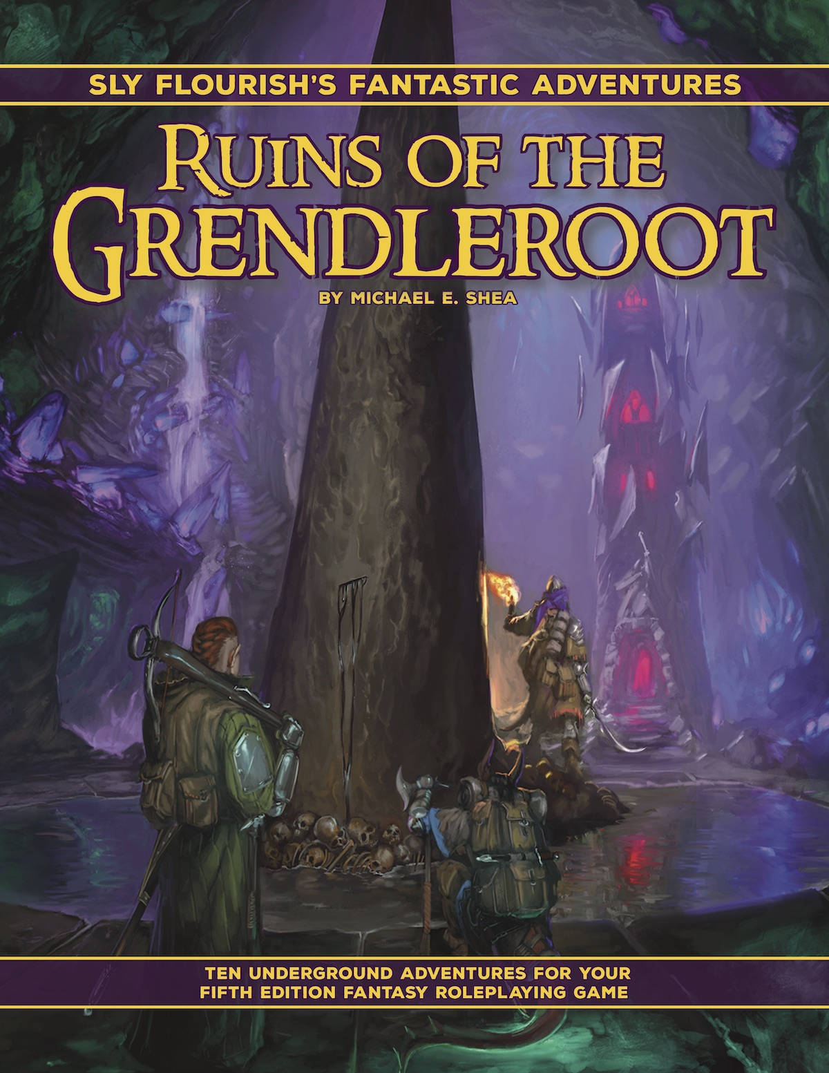 Cover of Fantastic Adventures: Ruins of the Grendleroot