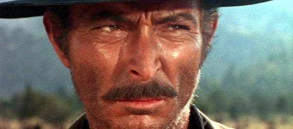 Lee Van Cleef in The Good, The Bad, and the Ugly