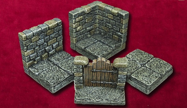 Dwarven Forge Game Tile Kickstarter pieces