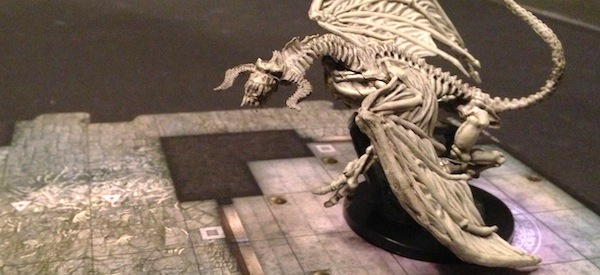 Curse of Undeath Dracolich Miniature