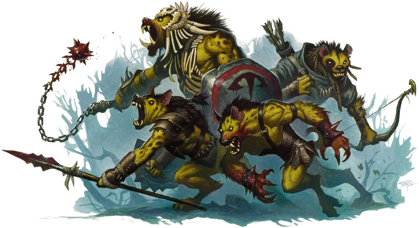The Hunger: A Level 1 to 20 Gnoll Campaign: Sly Flourish