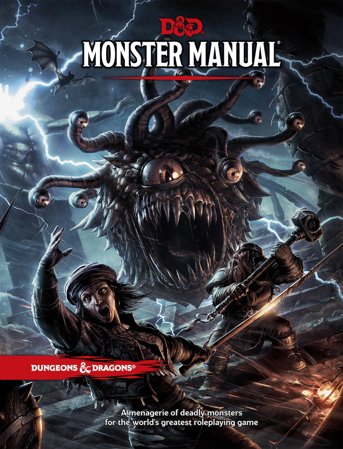 Monster Manual Art