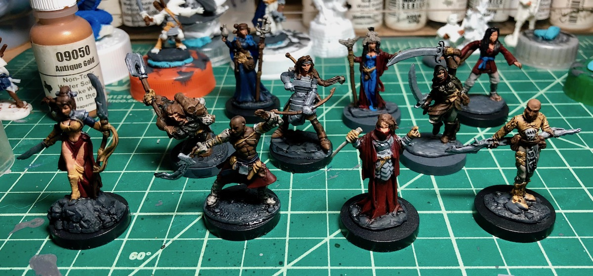 photograph relating to Dnd Printable Minis identified as A Fresh new DMs Lead in the direction of Miniatures: Sly Prosper