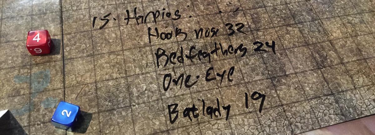 Player-identified Harpy traits