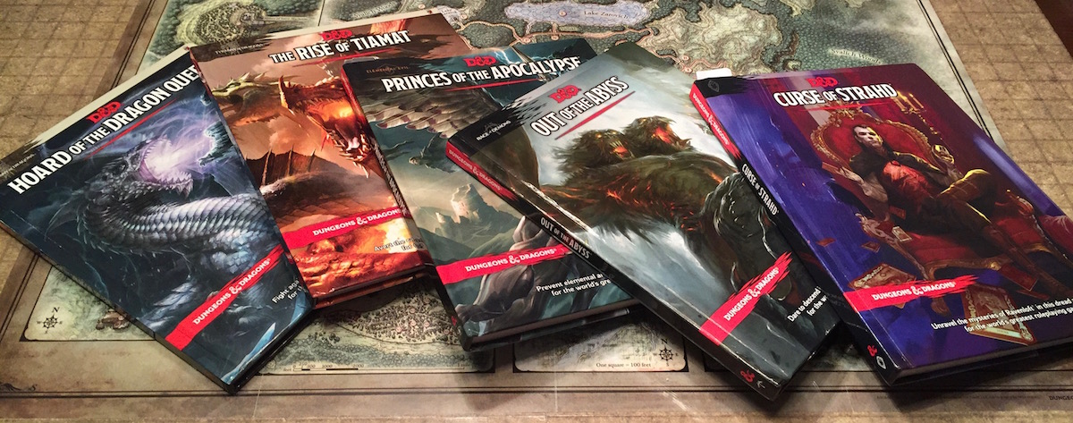 A Guide to Official D&D 5th Edition Published Adventures