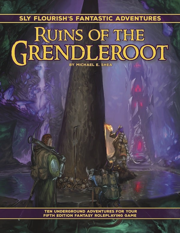 Fantastic Adventures: Ruins of the Grendleroot