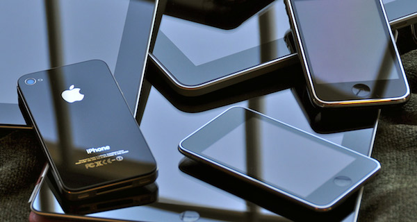 Smartphone pile