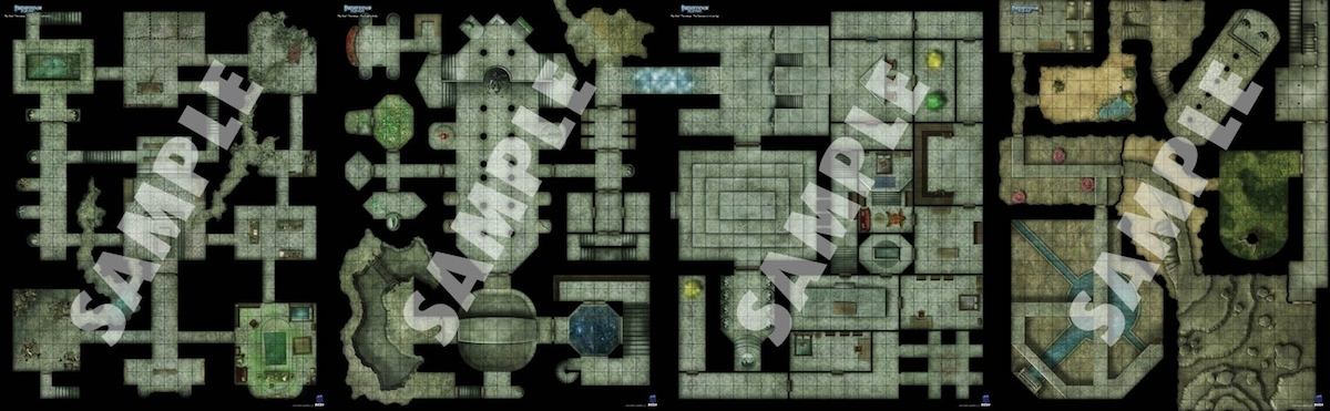 Thornkeep Maps
